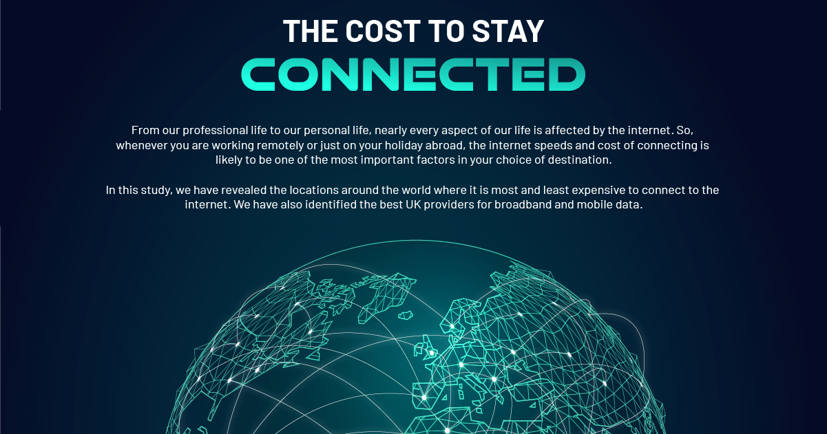 The Cost To Stay Connected To The Internet In 2020 Header