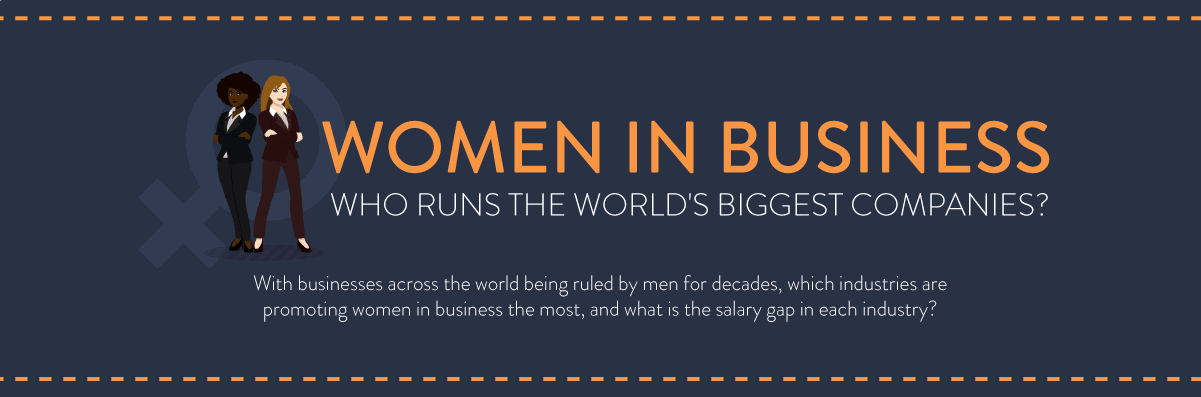 Women In Business: Who Runs The World's Biggest Companies Header