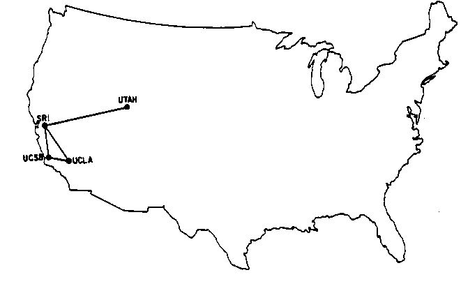 Map Of The Entire Internet In 1969